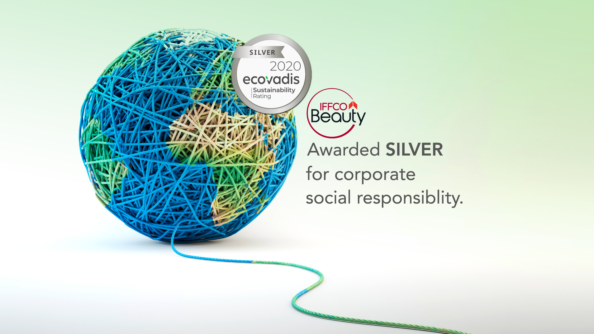 IFFCO BEAUTY wins SILVER Recognition Level for Sustainability