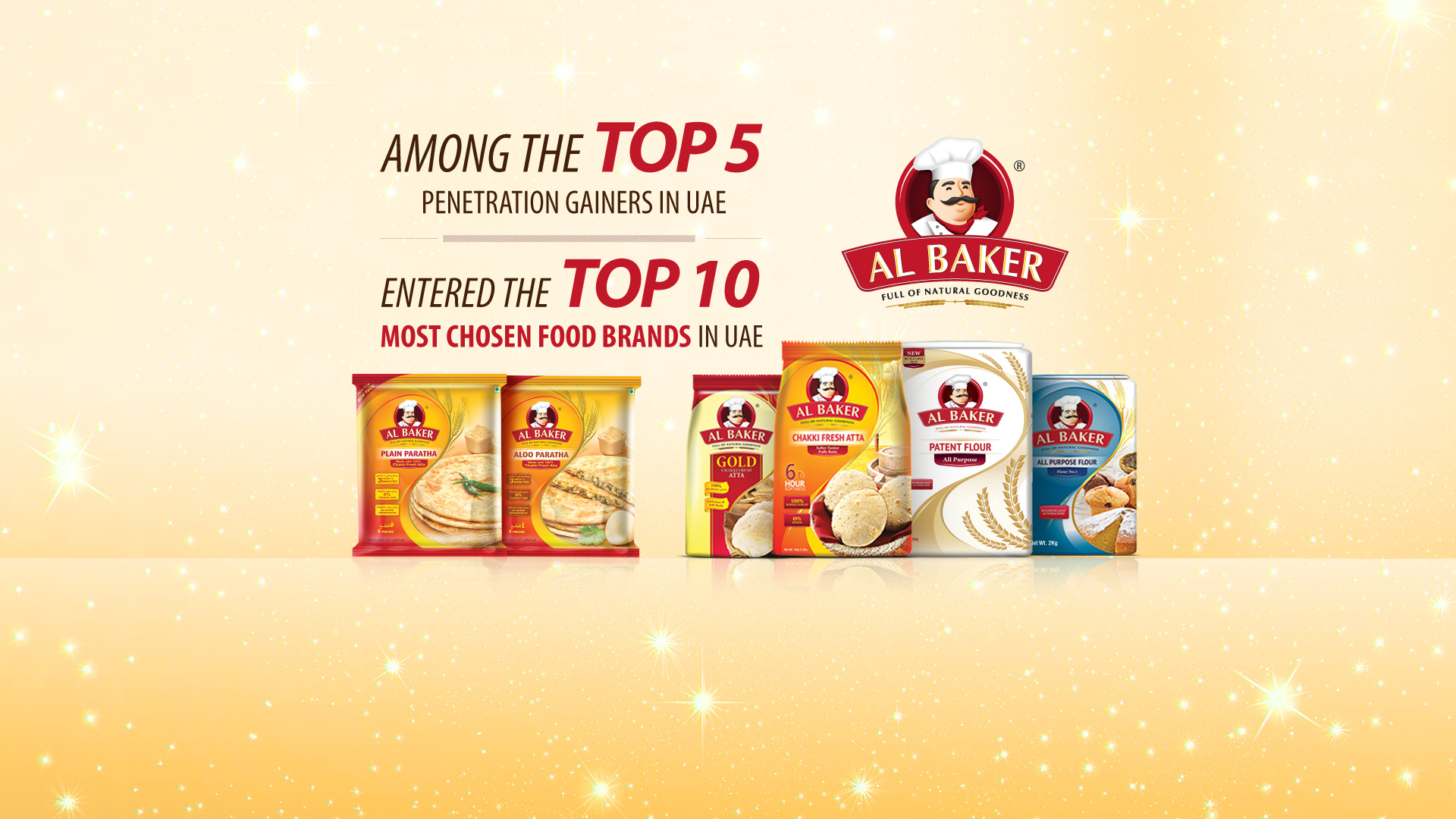 AlBaker is one of the most chosen food brands in the UAE